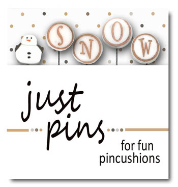 S is for Snowman pin set - Click Image to Close