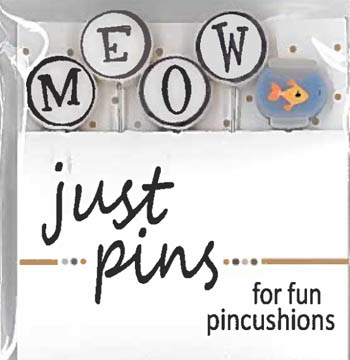 Block Party - Meow - M is for Meow pin set