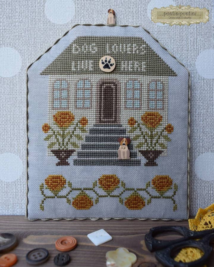 DOG LOVER LIVES HERE
