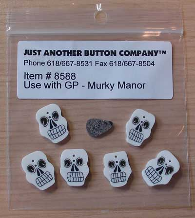Murky Manor Button Pack