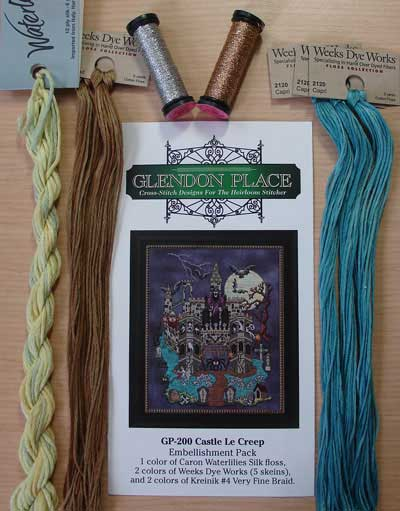 Castle Le Creep Specialty Fiber Pack