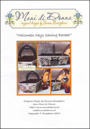 Halloween Days Sewing Basket