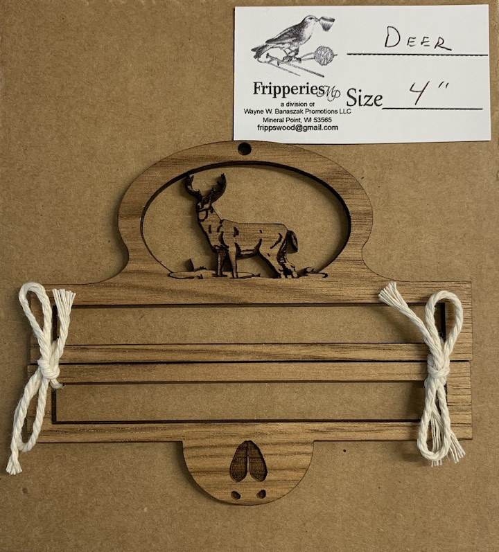 Bell Pull - Deer - 4 inches