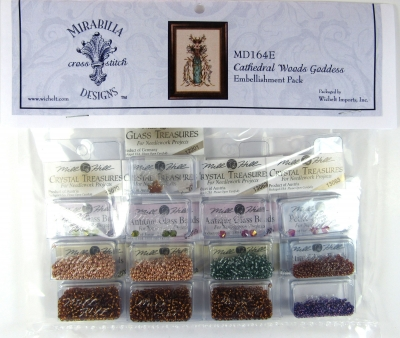 Cathedral Woods Goddess Embellishment Pack