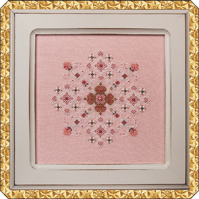 Queens Snowflake With Embellishments