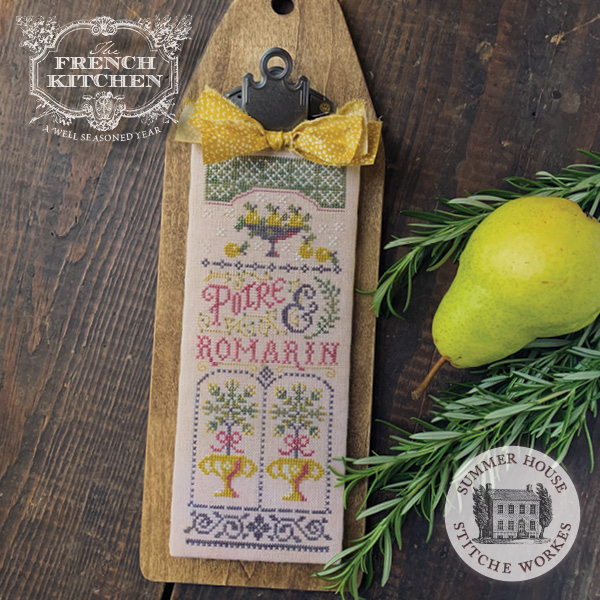 French Kitchen series - Poire et Romarin - Pear & Rosemary