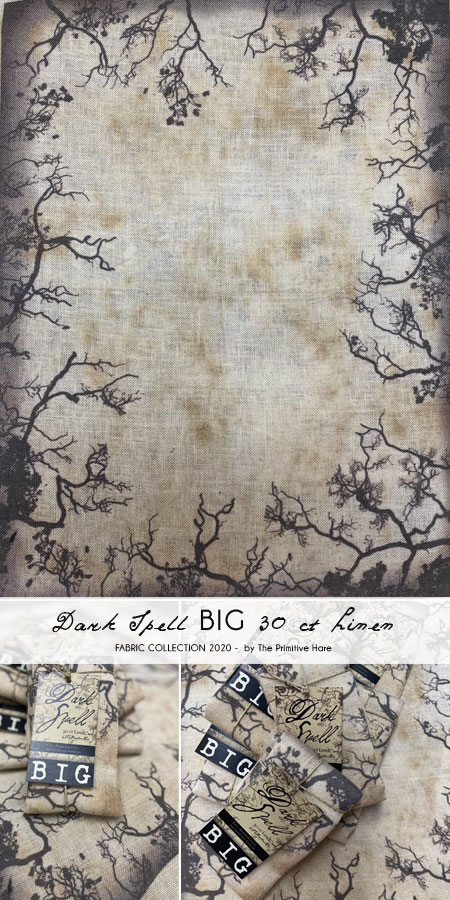 BIG Dark Spell 30 ct linen