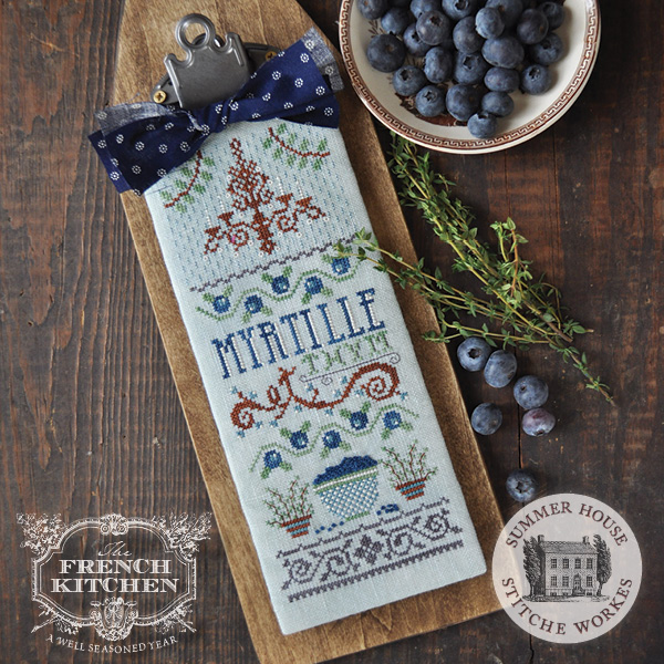 French Kitchen series - Myrtille et Thym - Blueberry & Thyme
