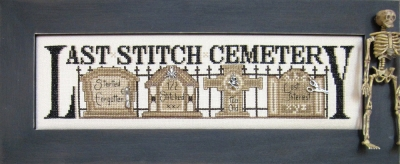 Last Stitch Cemetery with Charms
