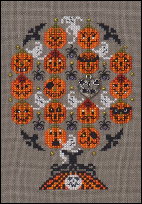 Haunted Pumpkins Tree With Embellishments