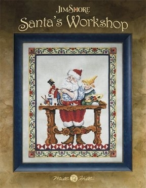 Santa's Workshop Chart and Embellishment Pack