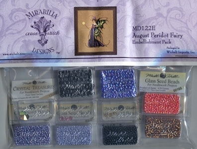 August Peridot Fairy Embellishment Pack